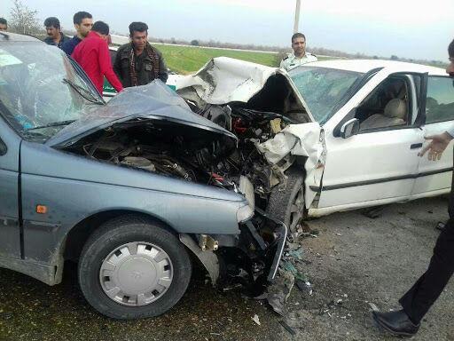 خبرنگاران حادثه رانندگی در محور آبادان - بندرامام پنج مصدوم داشت